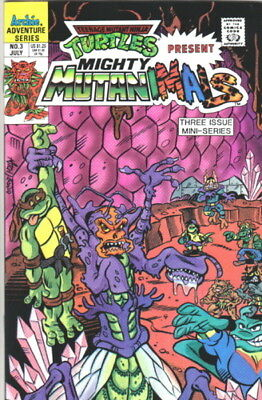 TMN Turtles April O/'Neil May East #1 comic1993 Archie n