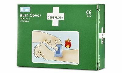 "CEDERROTH Verbrennungspflaster ""Burn Cover"", 74 x 45 mm"