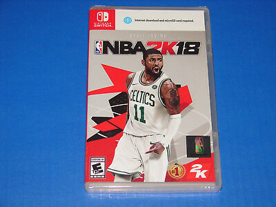 NBA 2K18 Nintendo Switch Game BRAND NEW FACTORY SEALED!   SHIPS FAST!!!