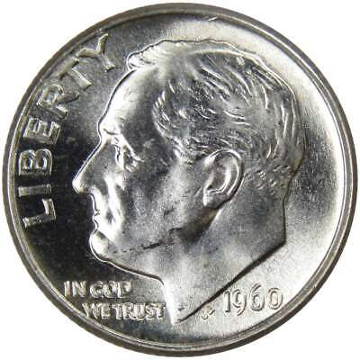 1960-D 10c Roosevelt Silver Dime Uncirculated Mint State