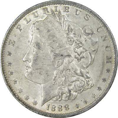 1888 O $1 Morgan Silver Dollar US Coin AU About Uncirculated