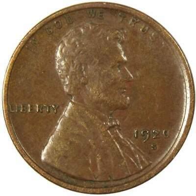 1920-S 1c Lincoln Wheat Cent Penny XF EF Extremely Fine