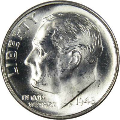 1948 S Roosevelt Dime Uncirculated