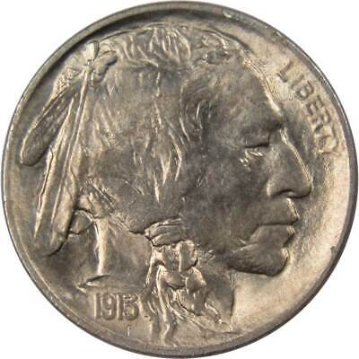 1913 5c Buffalo Nickel Type 1 Borderline Uncirculated