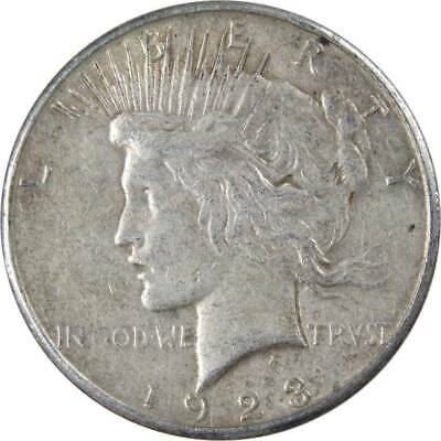 1923 S Peace Silver Dollar XF EF Extremely Fine