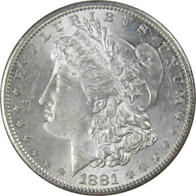 1881 S $1 Morgan Silver Dollar US Coin AU About Uncirculated