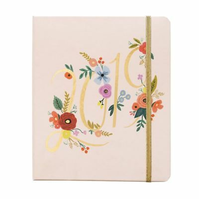 2019 Bouquet Covered Spiral 2019 Planner, Decorative Planner by Rifle Paper Co.