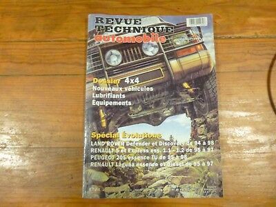 Rta N°608 Dossier 4X4 Nouveaux Vehicules Special Evolutions Land Rover Defender