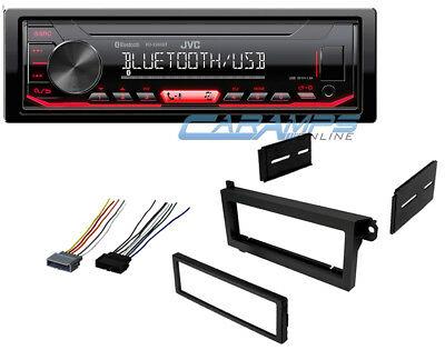New Jvc Car Stereo W/ Usb/Aux Inputs & Radio & Bluetooth W/ Installation Kit