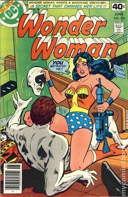 Wonder Woman (1st Series DC) #256 1979 VG Stock Image Low Grade