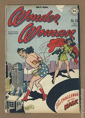 Wonder Woman (1st Series DC) #24 1947 FR/GD 1.5
