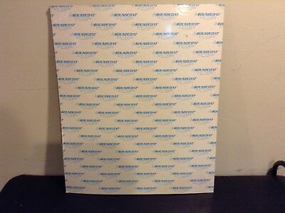 "1 Soundcoat 1/2"" Acoustic Sound Proofing Deadening Foam 28"" x 23"" Adhesive back"
