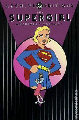 DC Archive Editions Supergirl HC (DC) #1-1ST 2001 VF Stock Image