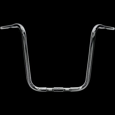 "DRAG SPECIALTIES Buffalo 18"" Ape Hangers, Chrome For Springer"
