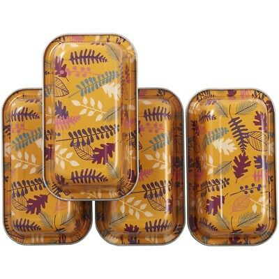 Bake & Bring Mini Tin Loaf Pans 4/pkg-autumn