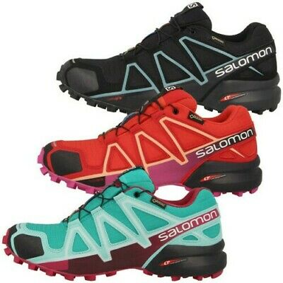 Salomon Speedcross 4 GTX Femmes Gore-Tex Baskets Sentier Chaussures Loisir 6c6a88507db