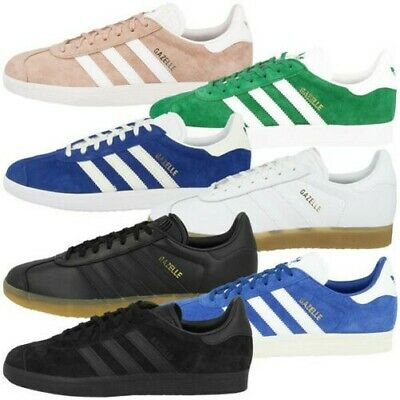 check out 70c65 2a7d6 Adidas Gazelle Uomo Scarpe Originali Uomo Retrò Sneaker Casual Sneakers