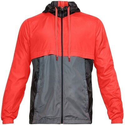Under Armour Sport Style Windbreaker Uomo Outdoor Pioggia Giacca Giacca Vento 1306482