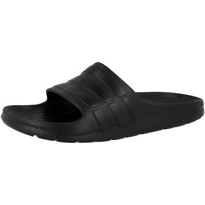 991478792 Adidas Duramo Slide Sandales Bain Tongs de Piscine Mocassins Core Black  S77991