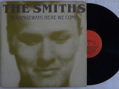 THE SMITHS STRANGEWAYS, HERE WE COME LP MADE IN BRAZIL 1st PRESSING 1988