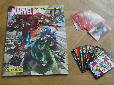 Panini MARVEL SUPER HEROES Lot de 10 Stickers au choix