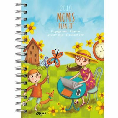 2019 Moms Plan It Planner, Family Organizer by Lang Companies