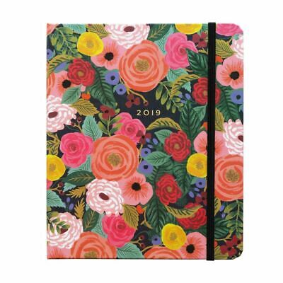 2019 Juliet Rose Covered Spiral 2019 Planner, Decorative Planner by Rifle Paper