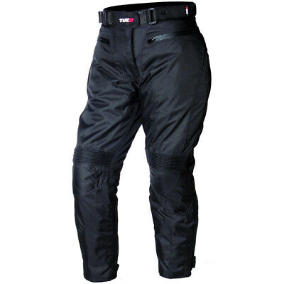 Tuzo Reef Black Armoured Waterproof Motorcycle Trousers NEW RRP £79.99!!