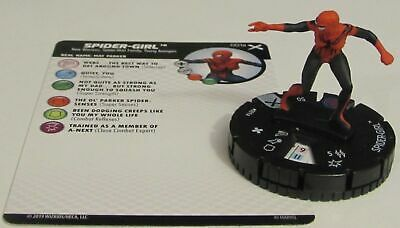#	001	a	Spider-Girl 	 - COM - 	Marvel Heroclix EARTH X