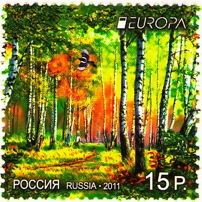 Russia 2011 Sc7267 Mi1712 1v  mnh Europa -2011. Forest