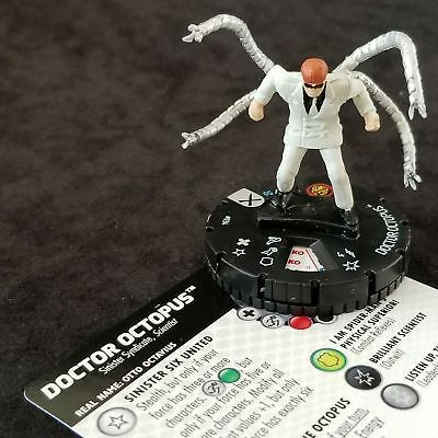 #	034		Doctor Octopus	 - RARE - 	Marvel Heroclix EARTH X