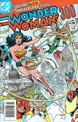 Wonder Woman (1st Series DC) #300 1983 VG/FN 5.0 Stock Image Low Grade