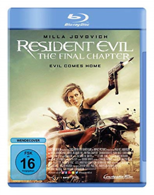 Resident Evil: The Final Chapter - (German Import) (Uk Import) Blu-Ray New