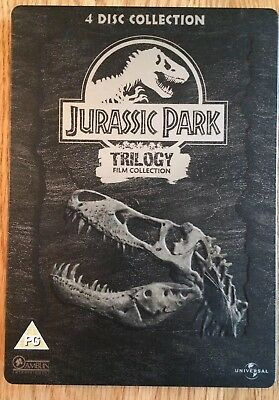 Jurassic Park - Trilogy Film Collection Steelbook 4x DVD (2005)