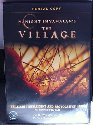 The Village DVD 2004 Supernatural Horror Film - Rental Versione