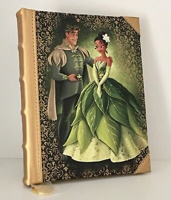 Disney Fairytale Designer Collection Tiana and Prince Naveen Journal LE