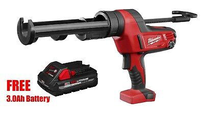 Milwaukee 2641-20 M18™ 10oz. Cordless Caulk & Adhesive Gun TOOL ONLY