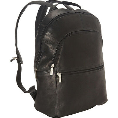 9c994dfde0 ROYCE LEATHER VAQUETTA 15 Inch Laptop Backpack - Black -  279.99 ...