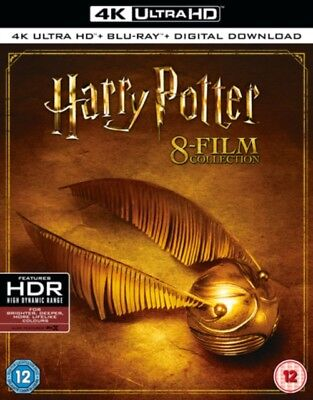 NEW Harry Potter Complete Collection 4K Ultra HD