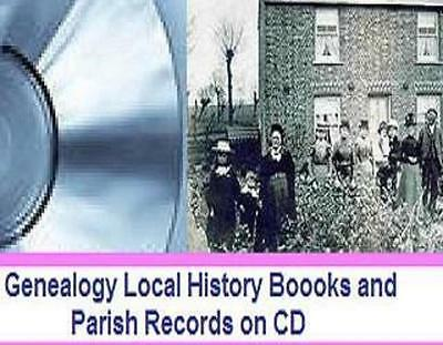 English Parish Registers 2 disc PDF format scans original books. No frills DVD