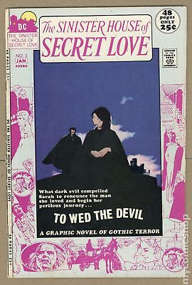 Sinister House of Secret Love #2 1971 VG+ 4.5