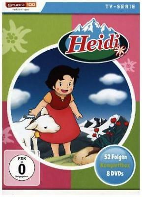 Heidi Komplettbox (TV-Serie,Classic) [EURO-Version, Regio 2] - Various DVD8 NEU