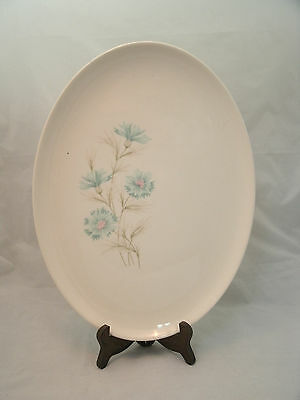 """Taylor Smith TS&T BOUTONNIERE Forever Yours 13 1/2"""" Oval Serving Platter USA ec"""