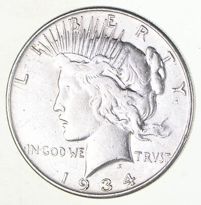 peace silver dollars us coin lot circulated choose how many 1923 Peace Silver Dollar Rare better date 1934 peace silver dollar nice retail value 90 silver us