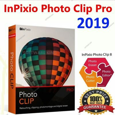 InPixio Photo Clip Professional 8.5 PRO Full Edition ⭐Download link⭐serial key⭐