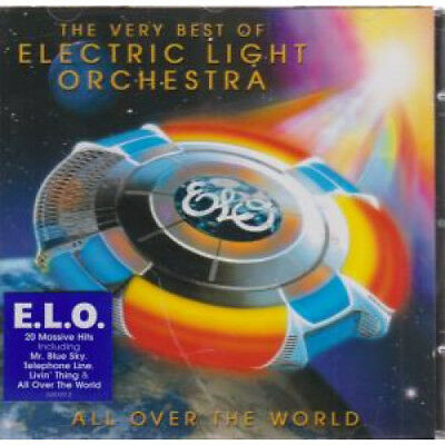 ELECTRIC LIGHT ORCHESTRA All Over The World CD Europe Epic 2005 20 Track Very