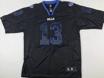 f8d2d259c NFL Buffalo Bills Stevie Johnson  13 Football Reebok Jersey Stitched Mens  3XL