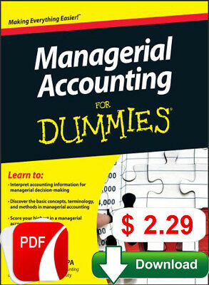 Managerial Accounting For Dummies (P.D.F)