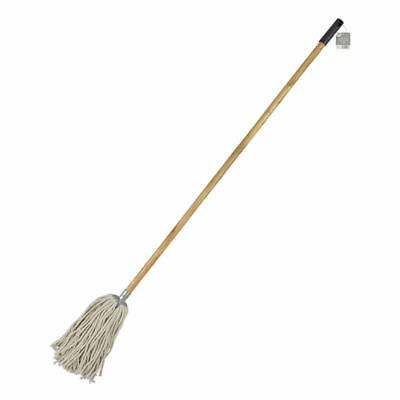 Elliott Cotton Mop with Wooden Handle Absorbent Strands Cleaning 147.5 X 15 x 10