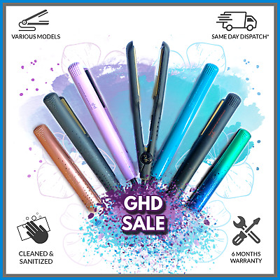 GHD Hair Straighteners - Various GHDs & Limited Edition - 6 Month Warranty